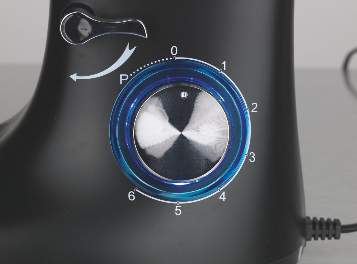 Bild 2 von GOURMETmaxx Küchenmaschine 3550 Schwarz