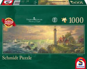 "Schmidt Spiele Panoramapuzzle ""Leuchtturm-Idylle"""