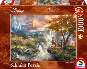 Schmidt Spiele Puzzle Disney Bambi