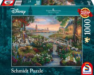 Schmidt Spiele Puzzle Disney 101 Dalmatiner