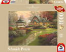 """Bild 1 von Schmidt Spiele Puzzle """"Haus mit Brunnen"""""""