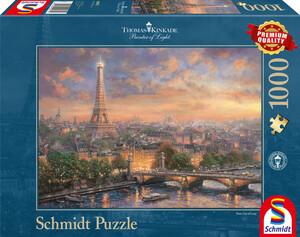"""Schmidt Spiele Puzzle """"Paris, Stadt der Liebe"""""""