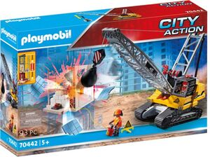 Playmobil® 70442 - Seilbagger mit Bauteil - Playmobil® City Action