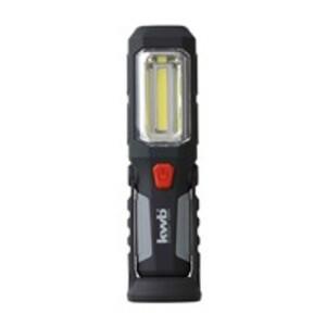 Kwb COB-LED Arbeitsleuchte Flex mit 2 Leuchtfunktionen, 2 Magneten zur Befestigung, 180° schwenkbar, 1 Stück