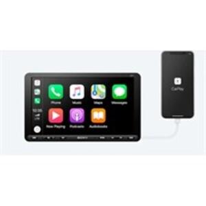 Sony XAV-AX8050D 1 DIN Mediacenter mit DAB+ Tuner, CarPlay/ AndroidAuto, USB und Bluetooth