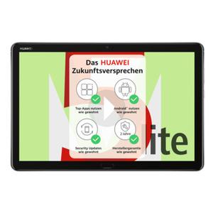 """HUAWEI MediaPad M5 Lite 10 LTE 3GB+32GB Grau [25,65cm (10,1"""") IPS Display, Android 8.0, 8MP Kamera]"""