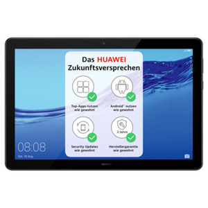 "HUAWEI MediaPad T5 10 LTE 3GB+32GB Schwarz [25,65cm (10,1"") IPS Display, Android 8.0, 5MP Kamera]"