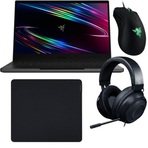 """Razer Blade Stealth 13 Gaming Laptop (2020) + Razer Zubehör 13,3"""" FHD 120Hz, Intel i7-1065G7, 16GB RAM, 512GB SSD, GeForce GTX 1650Ti, Windows"""