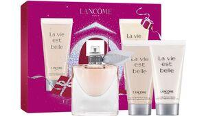 LANCÔME La vie est belle Eau de Parfum, Bodylotion, Duschgel – Geschenkset