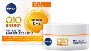 NIVEA Q10 ENERGY Anti-Falten Tagespflege LSF 15