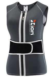 XION Freeride Viper1 - Rückenprotektor für Damen - Grau