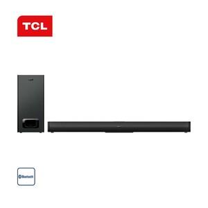 2.1-Bluetooth®-Soundbar TS5010-EU mit Funk-Subwoofer • 230 Watt RMS • optischer Audio-/Aux-Eingang, USB-Anschluss • Maße Soundbar: H 6,6 x B 80 x T 8,4 cm • Maße Subwoofer: H 32 x B 15 x T