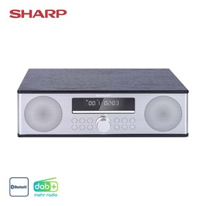 All-in-One-Soundsystem XL-B715D • 90 Watt RMS • CD-Player, MP3, FM-Radio • USB-Anschluss, Aux-In • Maße: H 11 x B 36,6 x T 23,2 cm