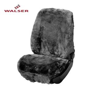 Lammfell-Bezug anthrazit oder schwarz, Universalgröße, für Seitenairbag geeignet, waschbar, lichtecht, farbbeständig