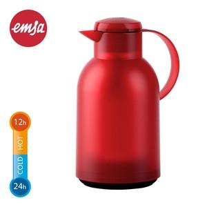 """Isolierkanne """"Samba"""" • mit Einhandbedienung • versch. Farben • ca. 1,5 Liter Inhalt"""