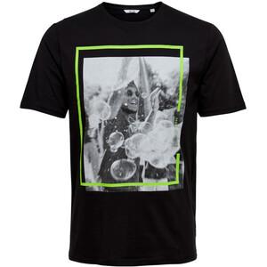 Only&Sons ONSPETAL SS FITTED TE T-Shirt mit Neon-Effekten