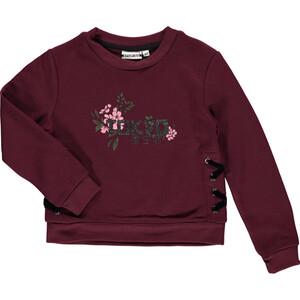 Mädchen Sweatshirt mit Glitzerprint