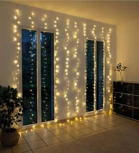 IDEENWELT LED-Lichtervorhang