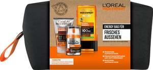 L'Oréal Paris men expert Energie Bag für Frisches Aussehen Geschenkset