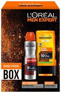 L'Oréal Paris men expert Orange Hygiene Box Geschenkset