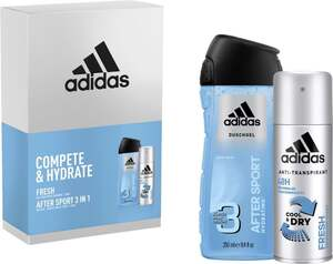 adidas Compete & Hydrate Men Geschenkset