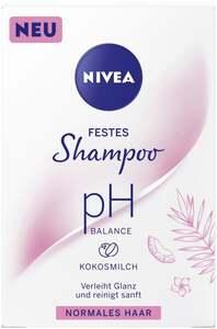 NIVEA Festes Shampoo pH Balance Kokosmilch