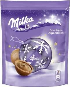Milka feine Kugeln Alpenmilch