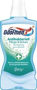 Odol med3 Antibakteriell Pflege & Schutz Mundspülung