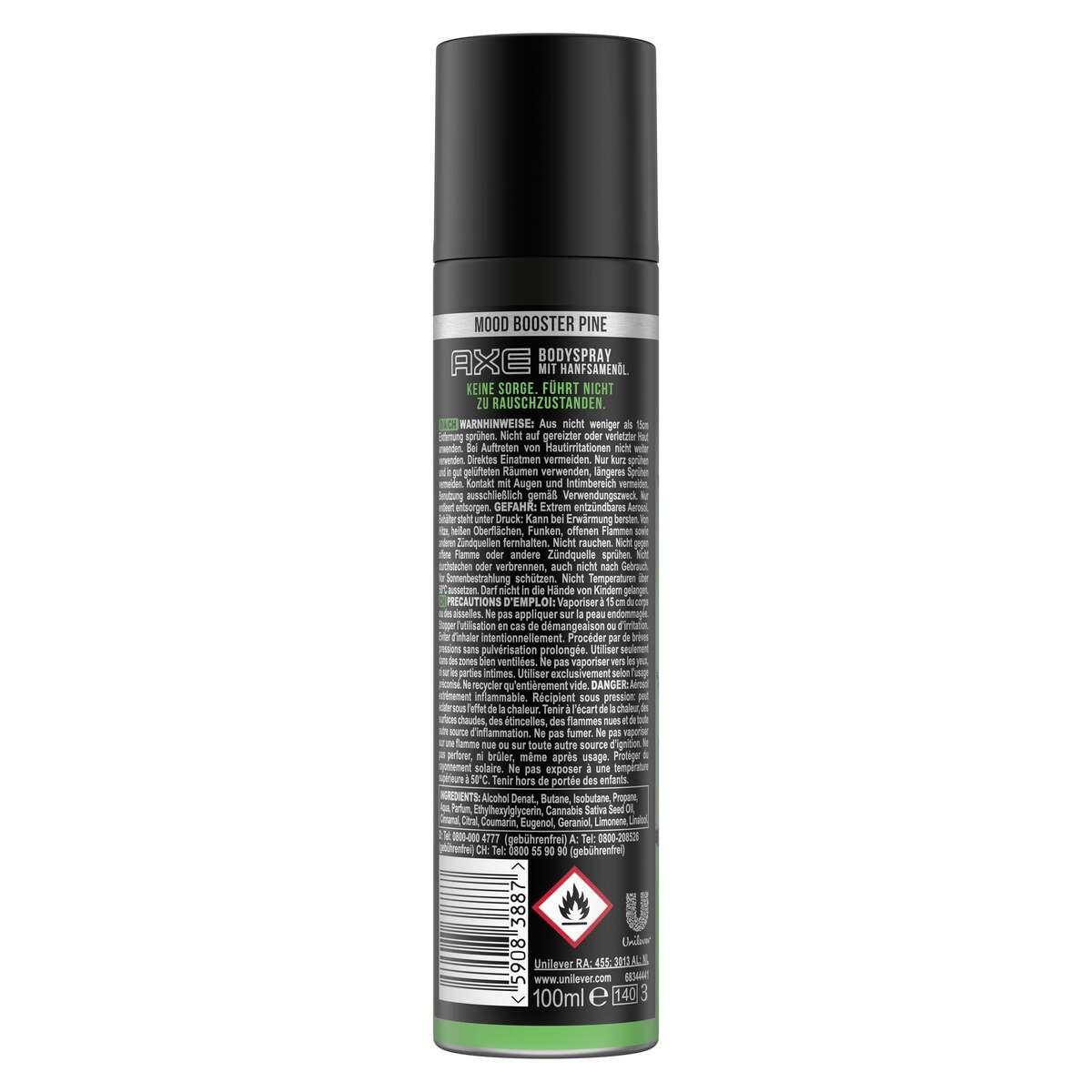 Bild 2 von AXE Deodorant Spray  Mood Booster Unplugged Pin