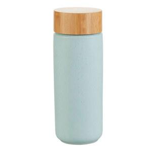 Casalino Trinkbecher doppelwandig Steingut 280 ml