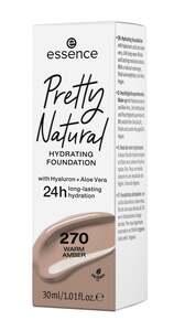 essence Pretty Natural hydrating foundation 270 Warm Amber