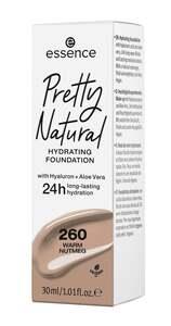 essence Pretty Natural hydrating foundation 260 Warm Nutmeg