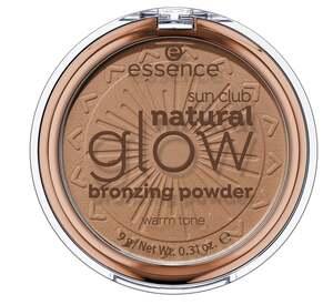 essence sun club natural glow bronzing powder 01 warm tone