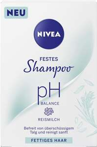 NIVEA Festes Shampoo pH Balance Reismilch
