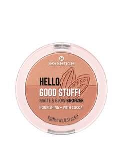essence HELLO, GOOD STUFF! MATTE & GLOW Bronzer 20 Cocoa-kissed