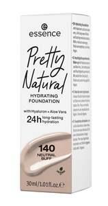 essence Pretty Natural hydrating foundation 140 Neutral Buff