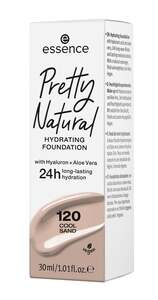 essence Pretty Natural hydrating foundation 120 Cool Sand