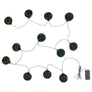 STRÅLA Lichterkette (12), LED, batteriebetrieben/verschiedene Muster