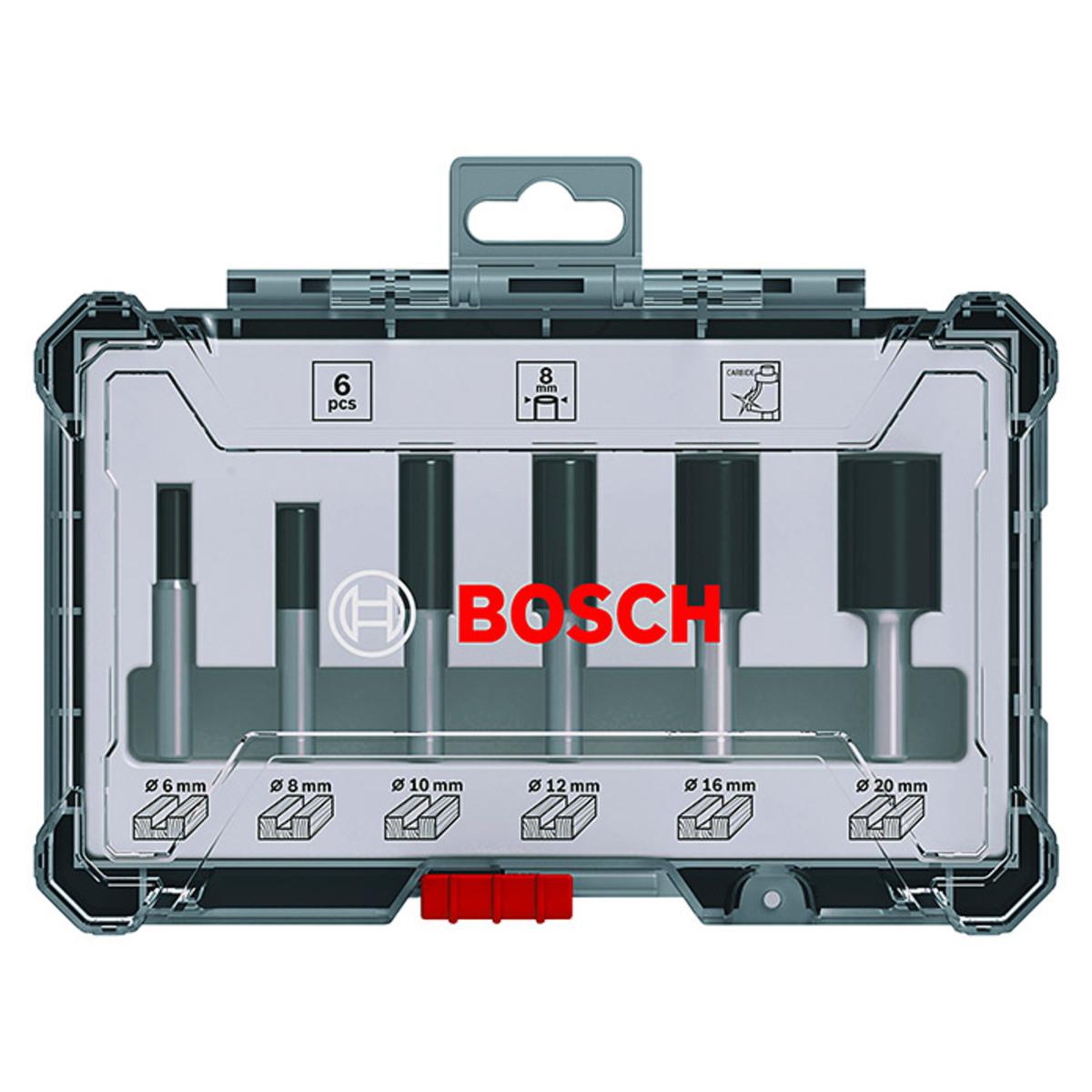 Bild 1 von Bosch Fräser-Set Nut