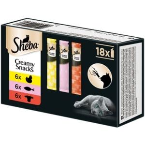 Sheba Creamy Snacks Multipack 18x12g