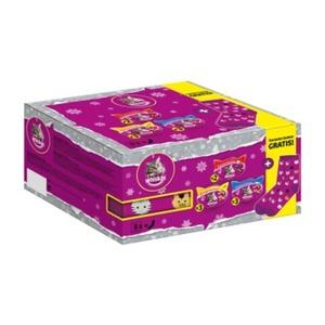 Whiskas Weihnachtliche Snack-Box mit Socken