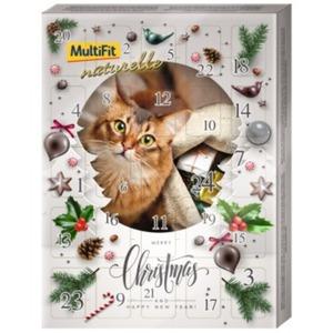 MultiFit naturelle Adventskalender Katze 150g