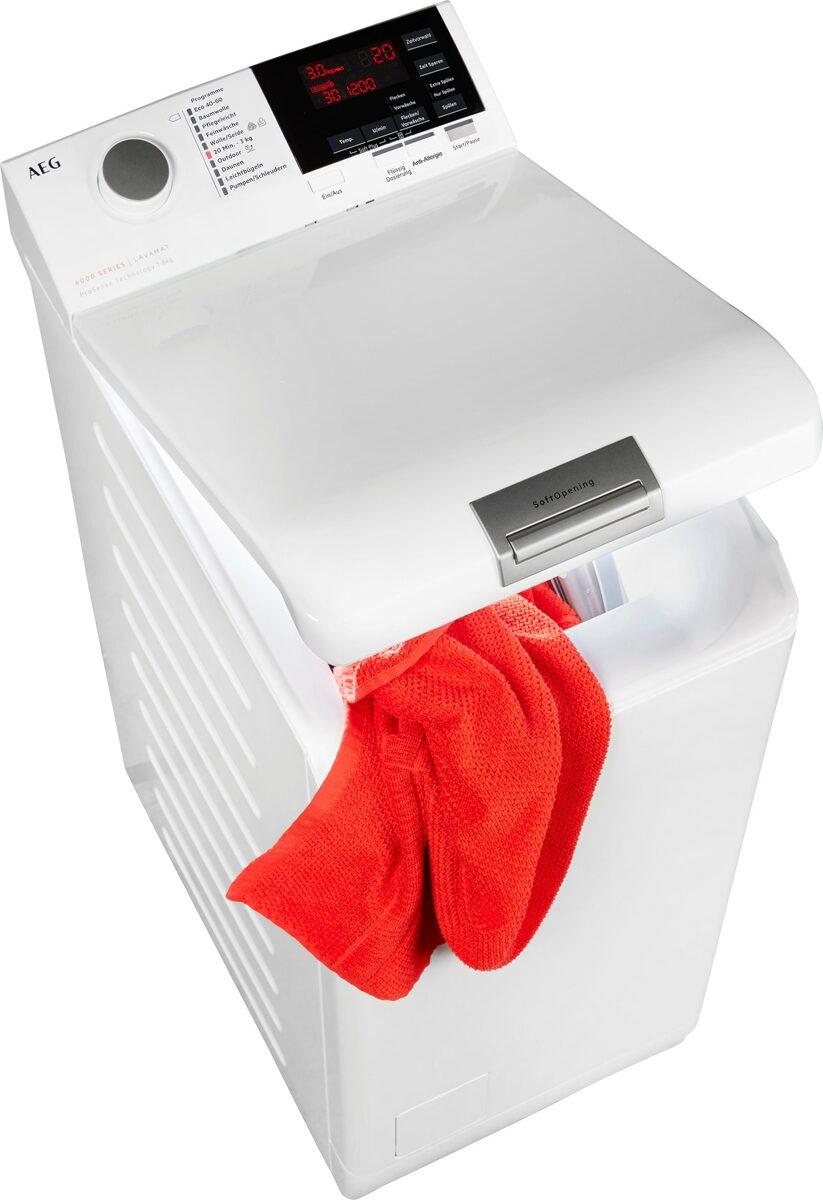 Bild 1 von AEG Waschmaschine Toplader 6000 L6TB26TL, 6 kg, 1200 U/Min, ProSense - Mengenautomatik