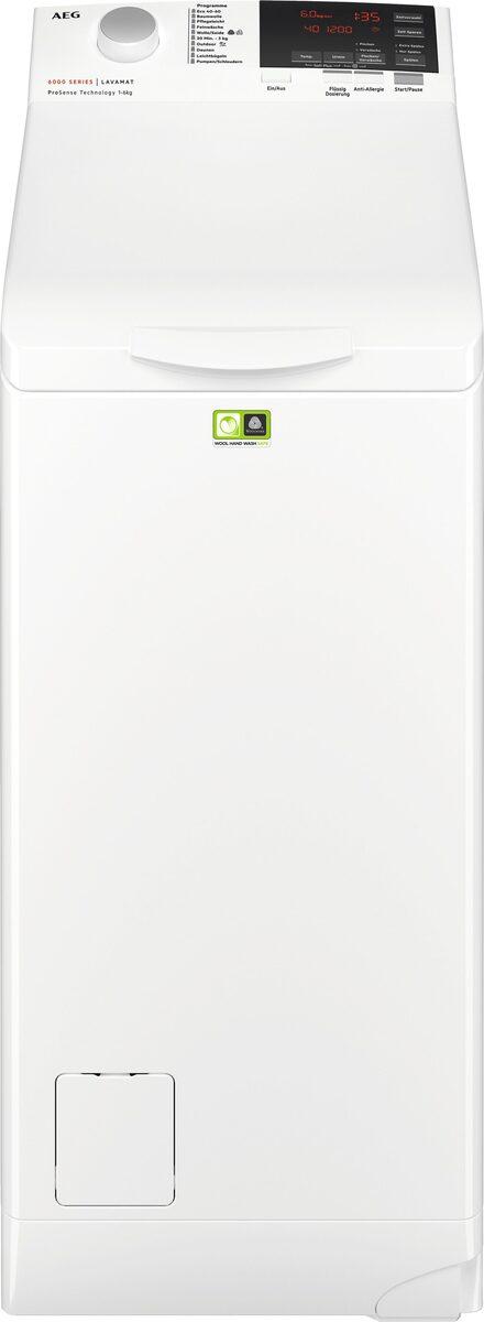 Bild 5 von AEG Waschmaschine Toplader 6000 L6TB26TL, 6 kg, 1200 U/Min, ProSense - Mengenautomatik