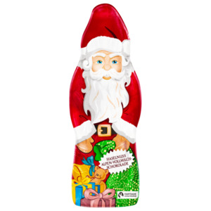 REWE Beste Wahl Weihnachtsmann Haselnuss/Vollmilch 70g