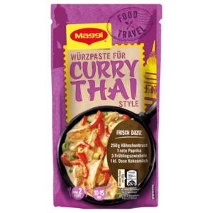 Maggi Food Travel Würzpaste für Curry Thai Style 65g