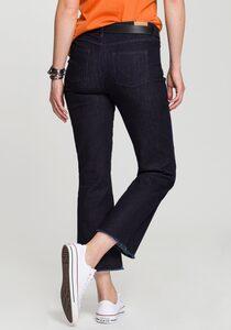 H.I.S Bootcut-Jeans »cropped, High-Waist« Nachhaltige, wassersparende Produktion durch OZON WASH