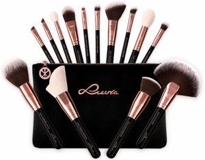 Luvia Cosmetics Kosmetikpinsel-Set »Essential Brushes - Black Diamond«, 15 tlg., vegan