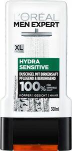 L'ORÉAL PARIS MEN EXPERT Duschgel »Hydra Sensitive Birkensaft«, Gesicht, Körper & Haare