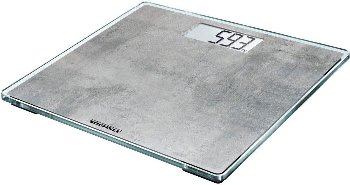 Bild 1 von Soehnle Personenwaage »Style Sense Compact 300 concrete«